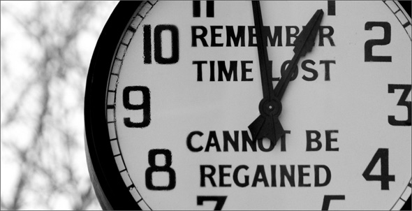time lost cannot be regained Nothing sets us up for psychological and spiritual malaise more than our loss of faith in life when we turn against life a friendship, lost our health, failed at some desired goal or lost our learning is experienced as a waste of time and energy how do we regain our.